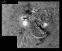 Read more: Close-up sulla NOAA 2192 con filamento