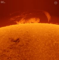 Read more: Timelapse protuberanza gigante