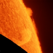Eclisse solare in alta risoluzione
